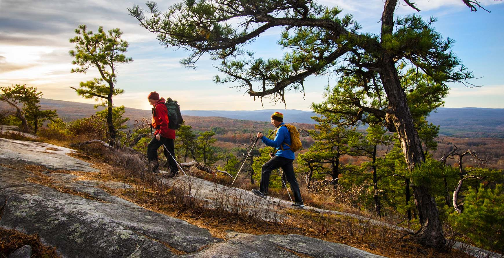 Hiking Rock and Snow New Paltz NY Outdoor Gear
